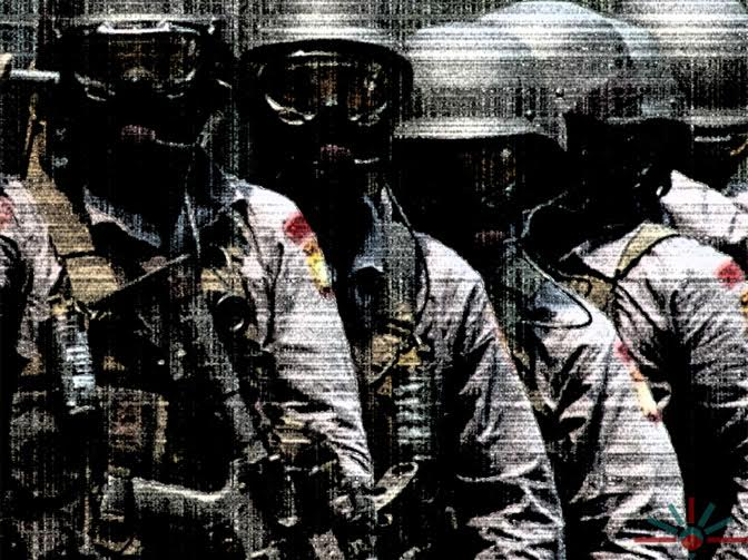 'Members of Detachment 88, the Western-trained Indonesian police counter-terrorism unit. Image: AK Rockefeller via Flickr